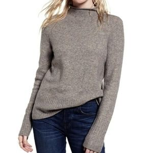 Madewell Inland Turtleneck Sweater Wool Alpaca XS